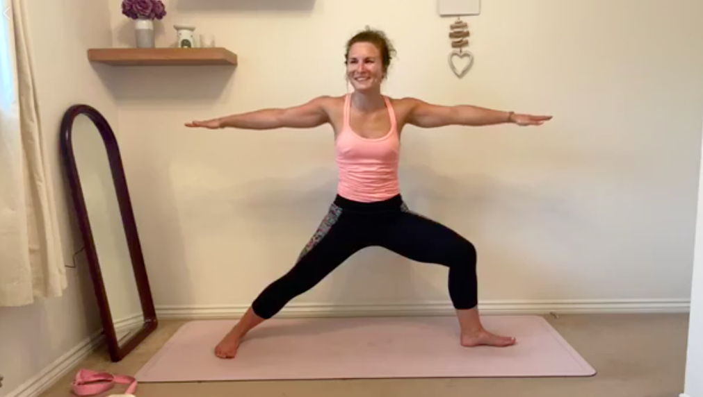 Why lockdown has been beneficial for yoga students
