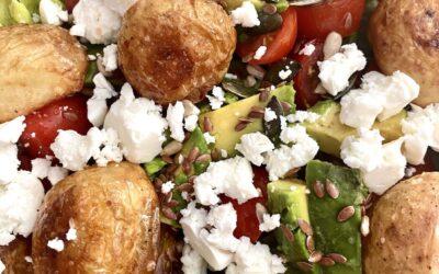 New Potato and Balsamic Salad